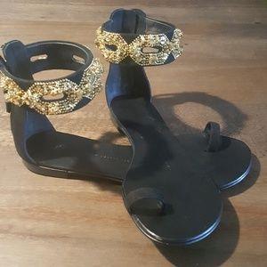 Giuseppe Zanotti Shoes - Giuseppe Zanotti  Design flat sandals.